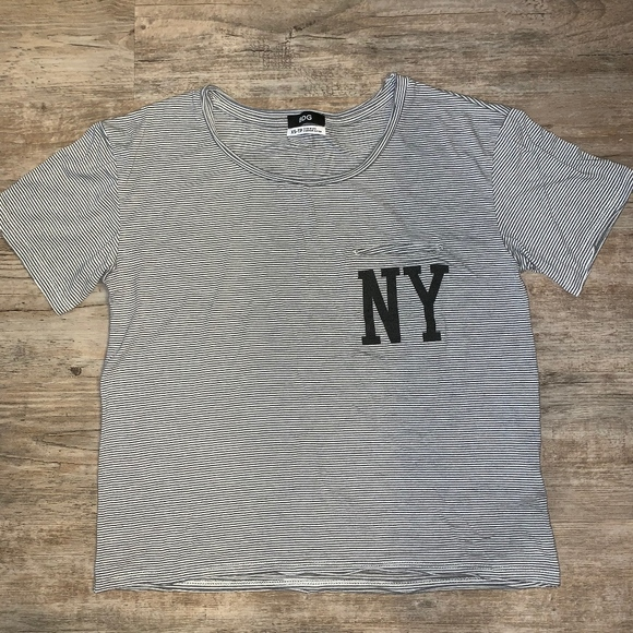BDG Tops - Urban Outfitters New York Pocket Tee